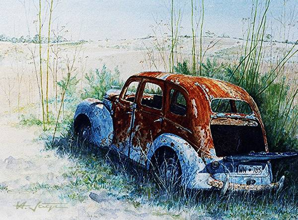 Painting - Forgotten. . .  by Hartmut Jager