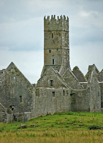 Photograph - Forgotten Irish Castle by Mark Duehmig