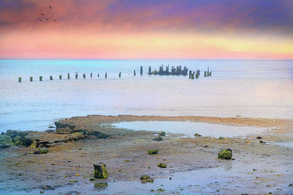 Photograph - Forgotten Pier by John Rivera