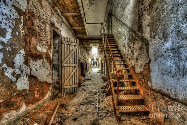 Photograph - Forgotten Stairway by Anthony Sacco
