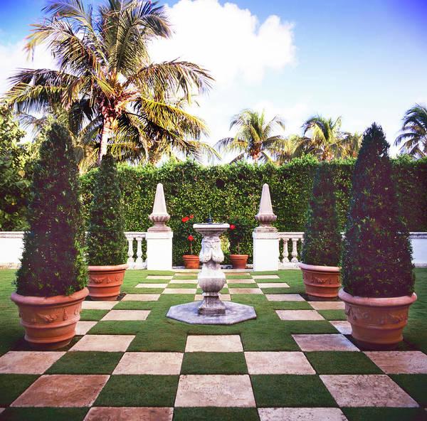 Palm Beach Photograph - Formal Garden by Richard Felber
