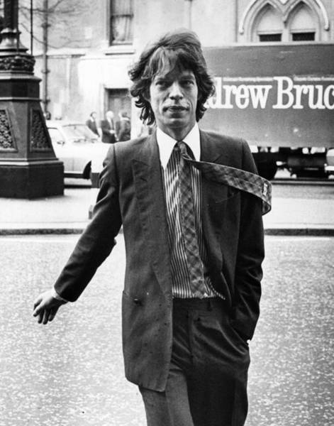 Mick Jagger Photograph - Formal Mick Jagger by Frank Tewkesbury