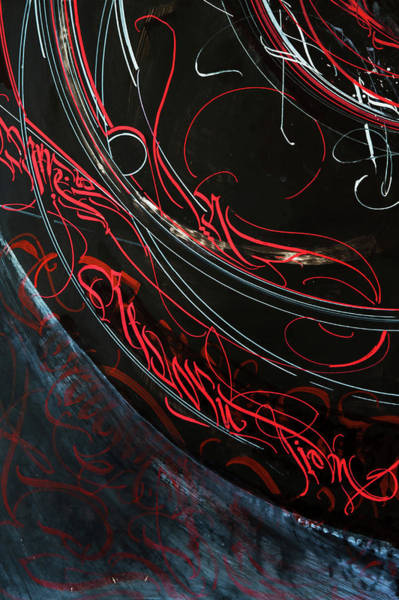 Drawing - Formation. Calligraphic Abstract by Dmitry Mandzyuk