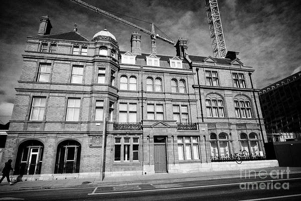 Wall Art - Photograph - Former Cie Offices And British Rail Hotel London And Western Hotel Dublin Republic Of Ireland Europe by Joe Fox