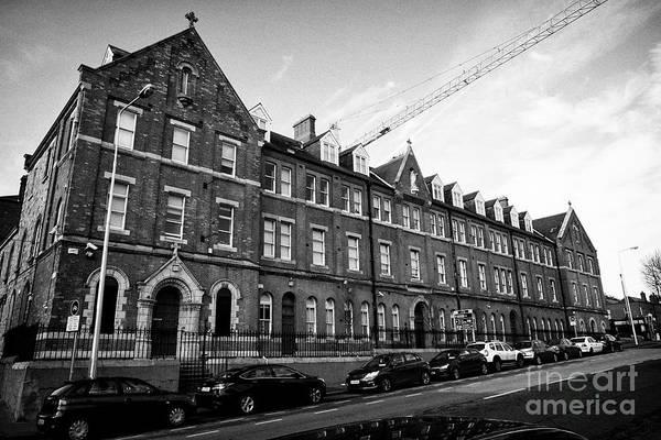 Wall Art - Photograph - former st josephs convent on portland row and baileys court apartment building Dublin Republic of Ir by Joe Fox