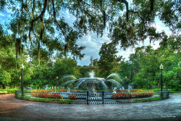 Photograph - Forsyth Park Fountain 7 Historic Savannah Georgia Art by Reid Callaway