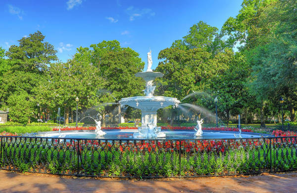 Wall Art - Photograph - Forsyth Park Fountain by Dan Sproul