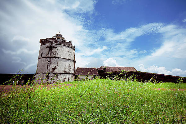 Goa Photograph - Fort Aguada Lighthouse, Goa by Sushil Kumar
