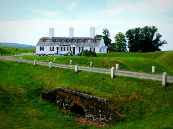 Wall Art - Photograph - Fort Anne National Historic Site by Karen Cook