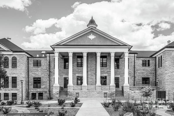 Photograph - Fort Hays State University Picken Hall by University Icons