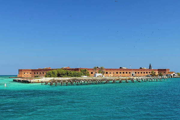 Photograph - Fort Jefferson, Dry Tortugas National Park by Kay Brewer