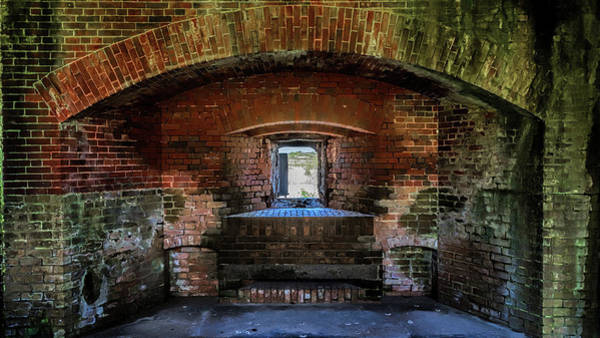 Photograph - Fort Massachusetts Casemate by Susan Rissi Tregoning