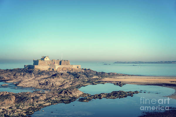 Wall Art - Photograph - Fort National In Saint Malo by Delphimages Photo Creations