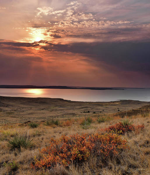 Photograph - Fort Peck Lake by Leland D Howard