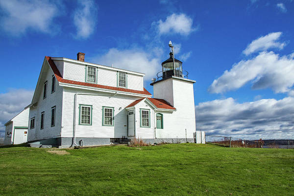 Photograph - Fort Point Light by Robert Clifford