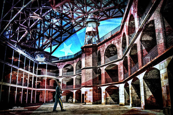 Us Civil War Digital Art - Fort Point by Mike Braun