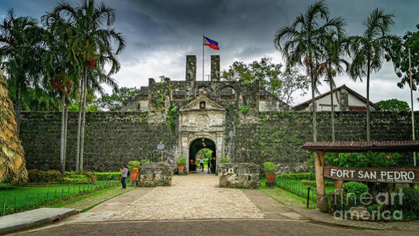 Photograph - Fort San Pedro Cebu by Adrian Evans