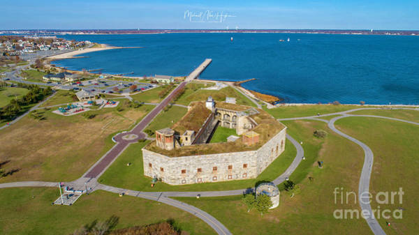 Photograph - Fort Tabor Or Fort Rodman by Michael Hughes