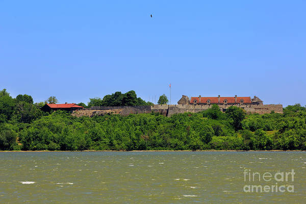 Wall Art - Photograph - Fort Ticonderoga, From Lake Champlain. by Louise Heusinkveld