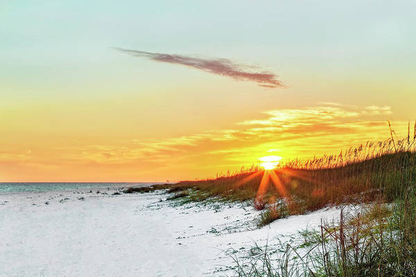 Photograph - Fort Walton Beach Sunset by Kay Brewer