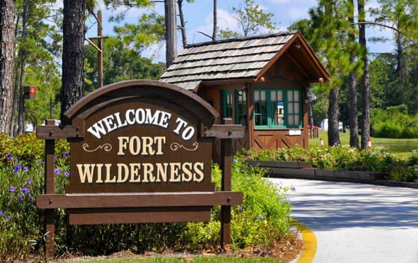Wall Art - Photograph - Fort Wilderness Entrance by David Lee Thompson
