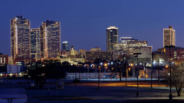 Photograph - Fort Worth Skyline 013019 by Rospotte Photography