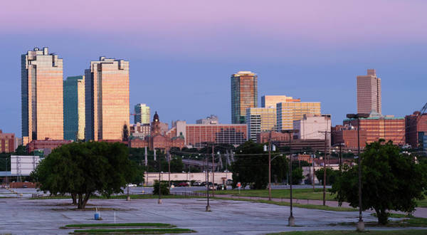 Photograph - Fort Worth Skyline 060119 by Rospotte Photography