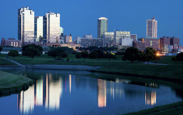 Photograph - Fort Worth Skyline 061619 by Rospotte Photography