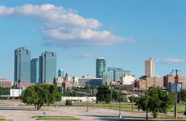 Photograph - Fort Worth Skyline 061919 by Rospotte Photography