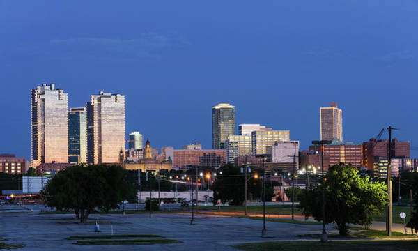 Photograph - Fort Worth Skyline V2 053019 by Rospotte Photography