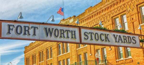 Wall Art - Photograph - Fort Worth Stockyards #1 by Stephen Stookey