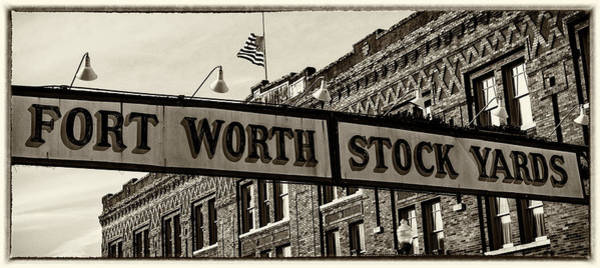 Wall Art - Photograph - Fort Worth Stockyards #3 by Stephen Stookey