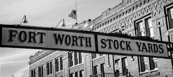 Wall Art - Photograph - Fort Worth Stockyards #2 by Stephen Stookey