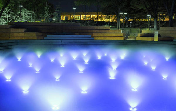 Photograph - Fort Worth Water Gardens 061719 by Rospotte Photography