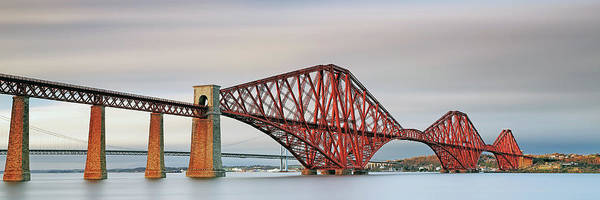 Wall Art - Photograph - Forth Railway Bridge - South Queensferry by Grant Glendinning