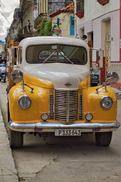 Photograph - Forties International Harvester Truck by Paul Rebmann