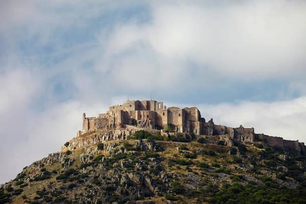 Fortified Wall Art - Photograph - Fortress And Monastery Calatrava La by Rudi Sebastian