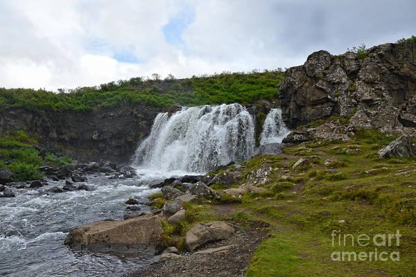 Wall Art - Photograph - Fossarrett Falls, Iceland by Catherine Sherman