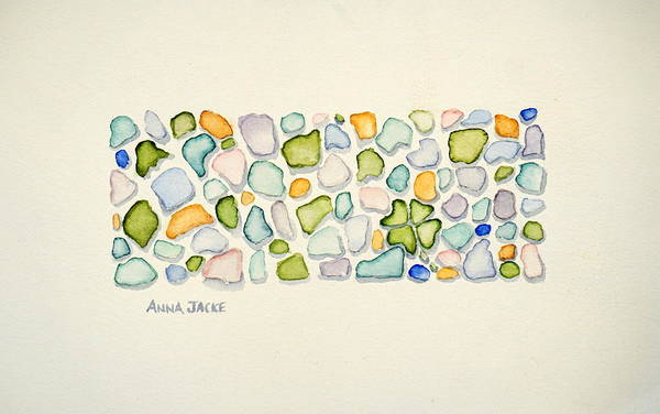 Painting - Found Luck by Anna Jacke