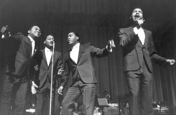 Apollo Theater Photograph - Four Tops At The Apollo by Michael Ochs Archives