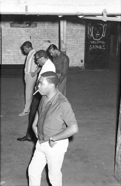 Duke University Photograph - Four Tops Rehearsing In The Basement by Michael Ochs Archives