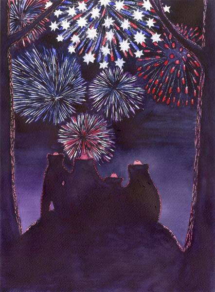Painting - Fourth Of July by Catherine G McElroy