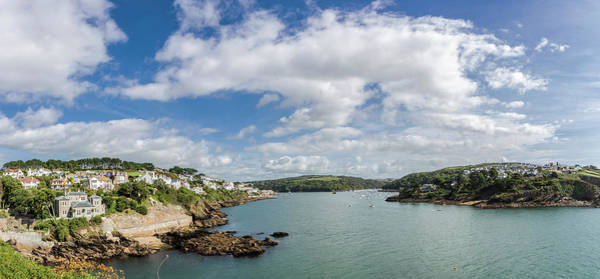 Photograph - Fowey And Polruan  From St Catherine's Castle by Maggie McCall