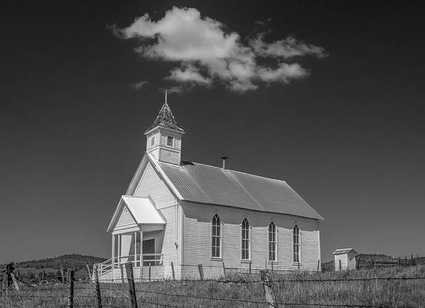 Photograph - Fox Community Church by Matthew Irvin