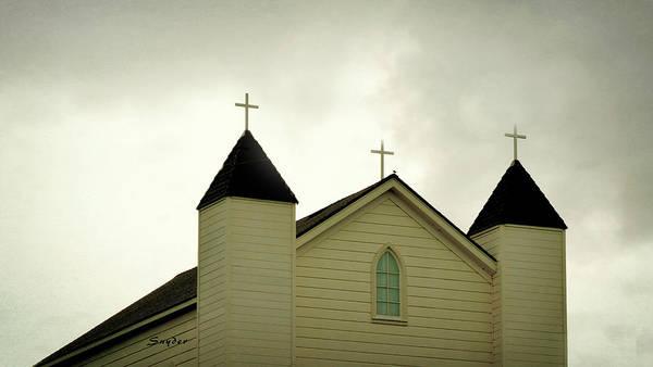 Photograph - Foxen Canyon Church by Barbara Snyder