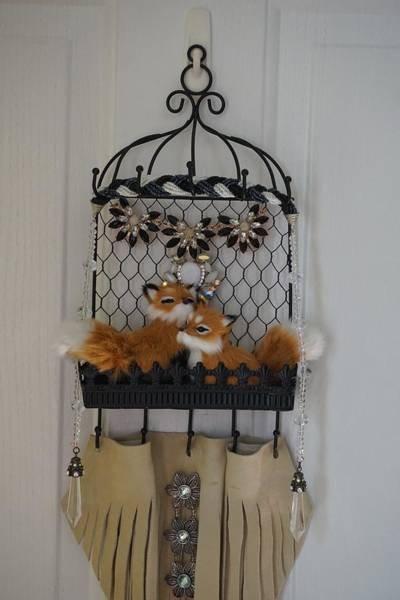 Greeters Photograph - Foxy Door Greeters by Susan Brown