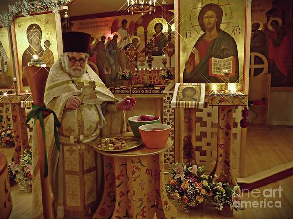 Wall Art - Photograph - Fr Yakov And Easter Eggs   by Sarah Loft