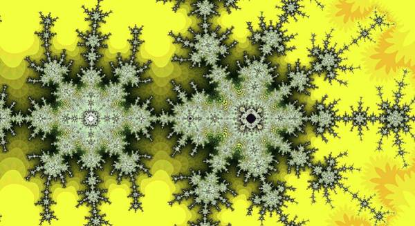 Digital Art - Fractal Follow Gold by Don Northup