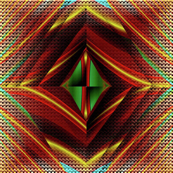 Digital Art - Fractal Idiosyncracy by Mario Carini