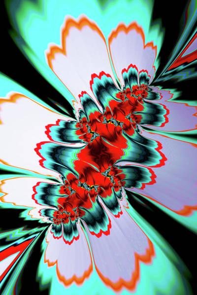 Digital Art - Fractal Splash 1 by Steve Purnell